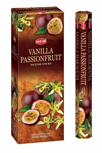 HEM VANILLA PASSION FRUIT HEXO