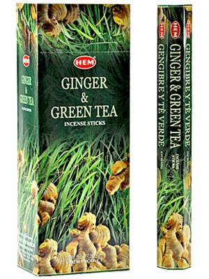 HEM GINGER GREEN TEA HEXO