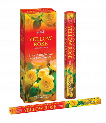 HEM YELLOW ROSE HEXO