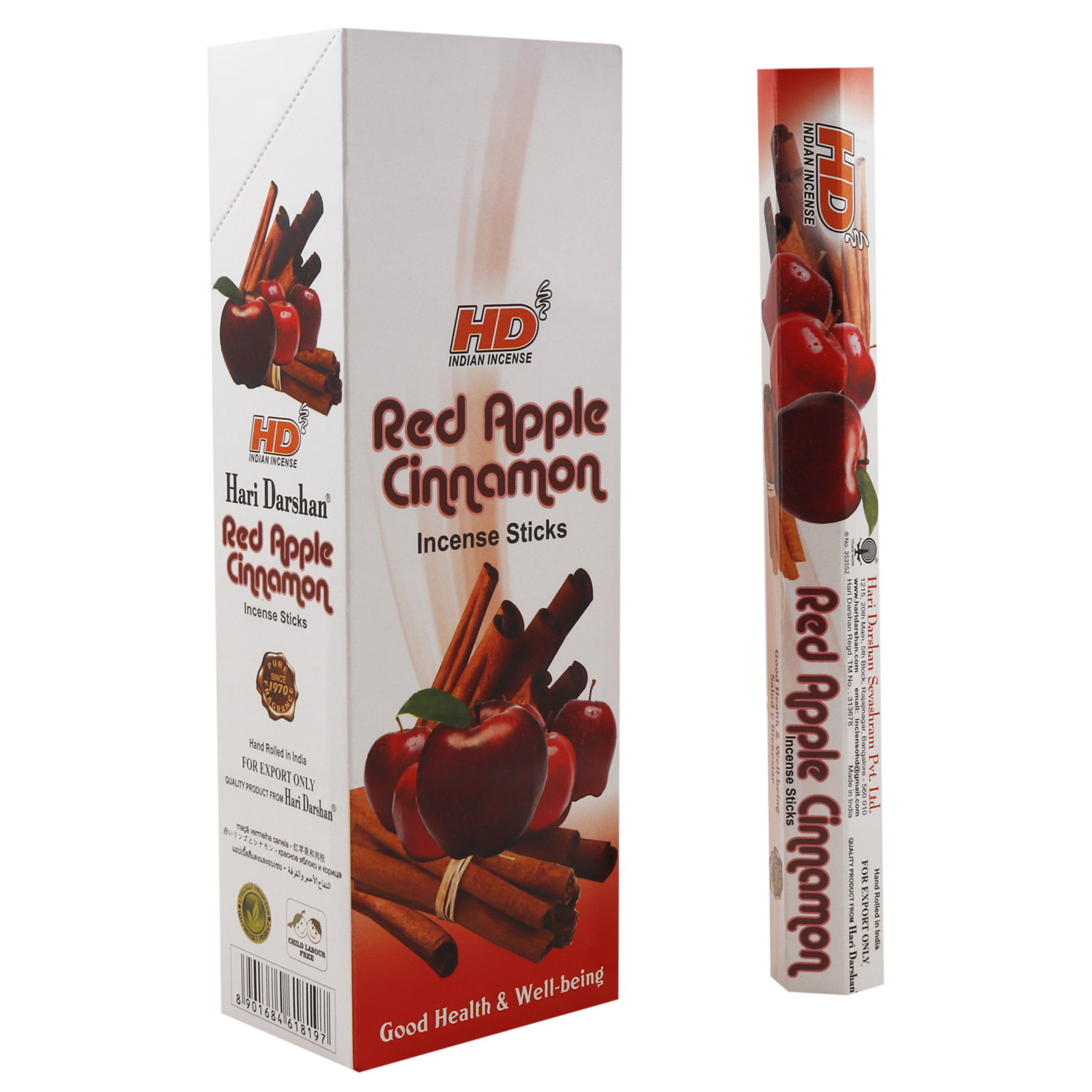 HARI DARSHAN RED APPLE CINNAMON / MANZANA ROJA CANELA
