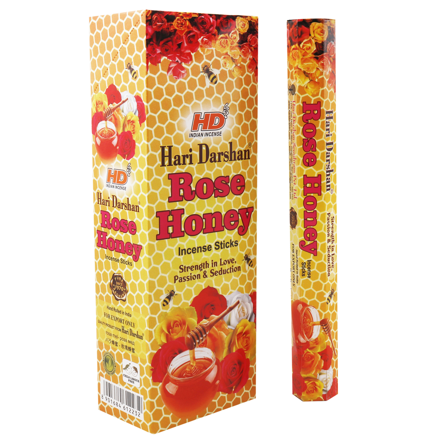HARI DARSHAN ROSE HONEY / ROSA MIEL