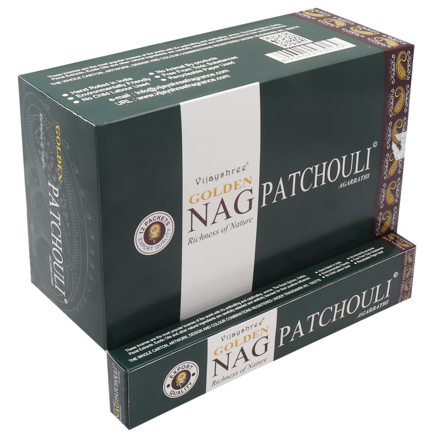 GOLDEN NAG PATCHOULI 15 GM
