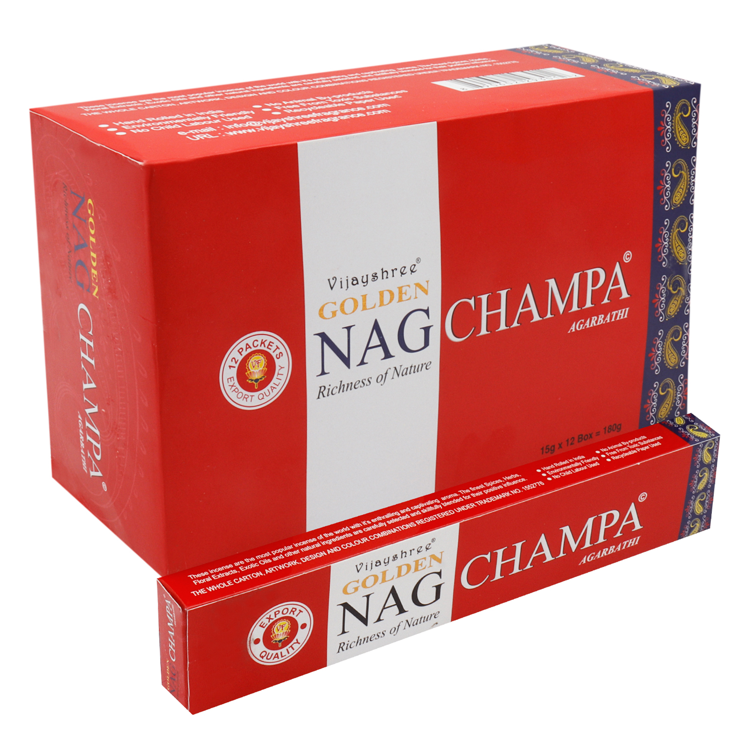 GOLDEN NAG CHAMPA 15 GM