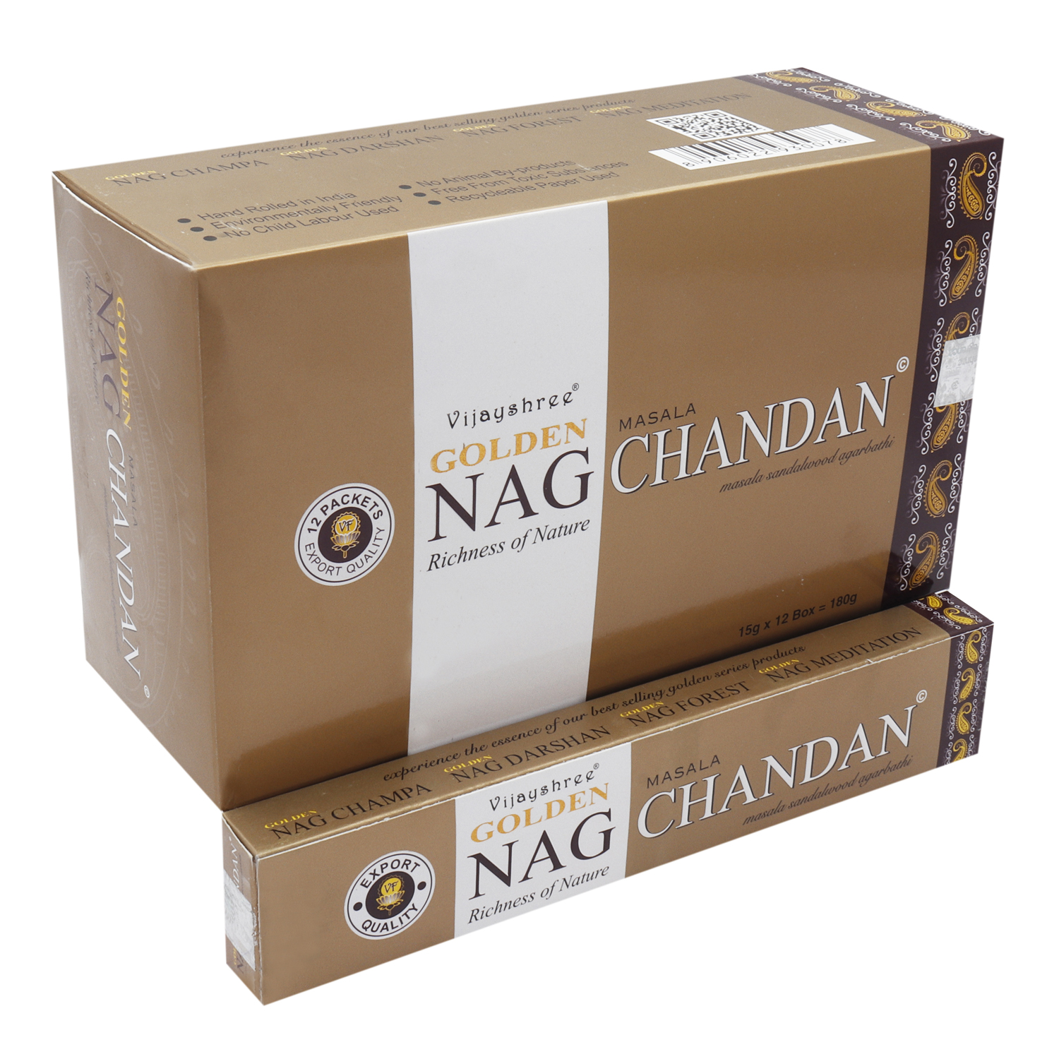 GOLDEN NAG CHANDAN 15 GM