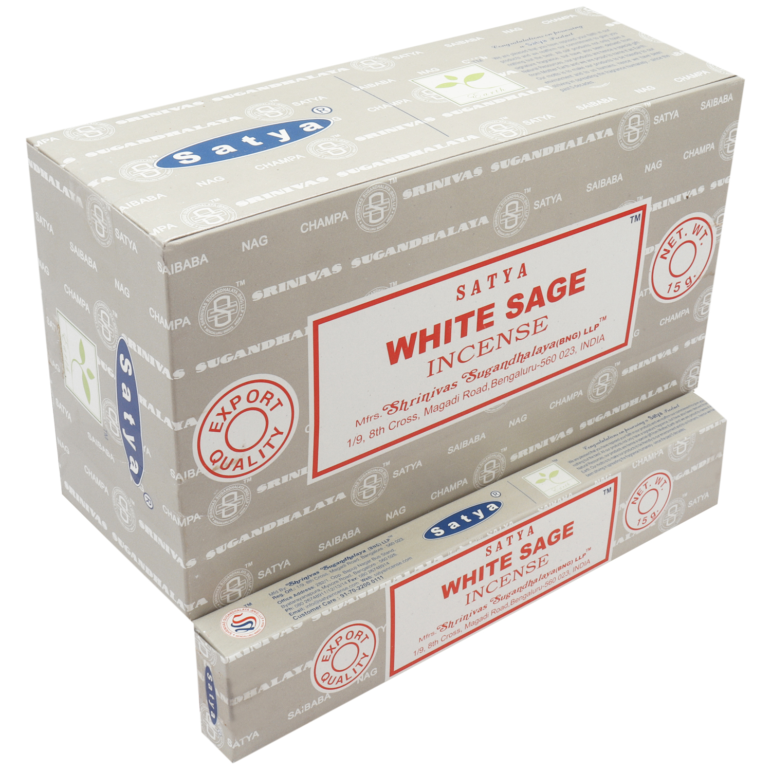SATYA WHITE SAGE 15 GM
