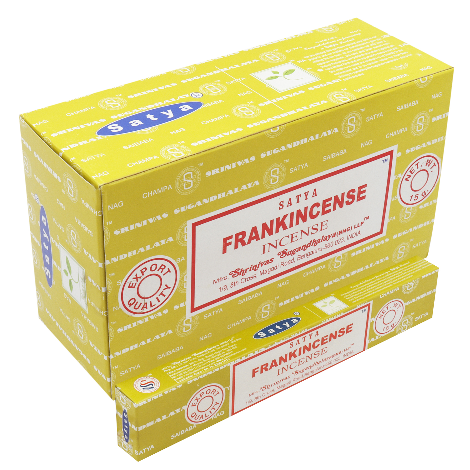 SATYA FRANKINCENSE 15 GM