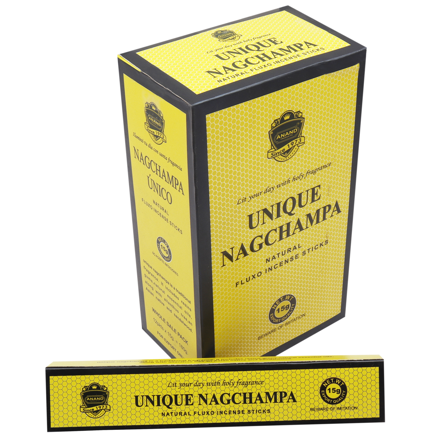 ANAND UNIQUE NAGCHAMPA 15 GM