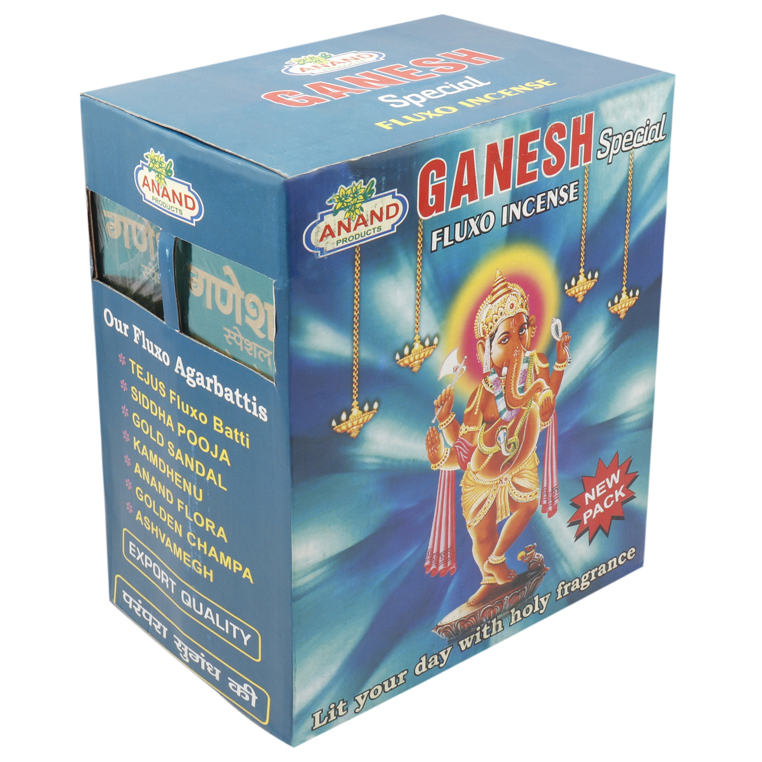 ANAND GANESH SPECIAL FLUXO INCENSE 25 GM