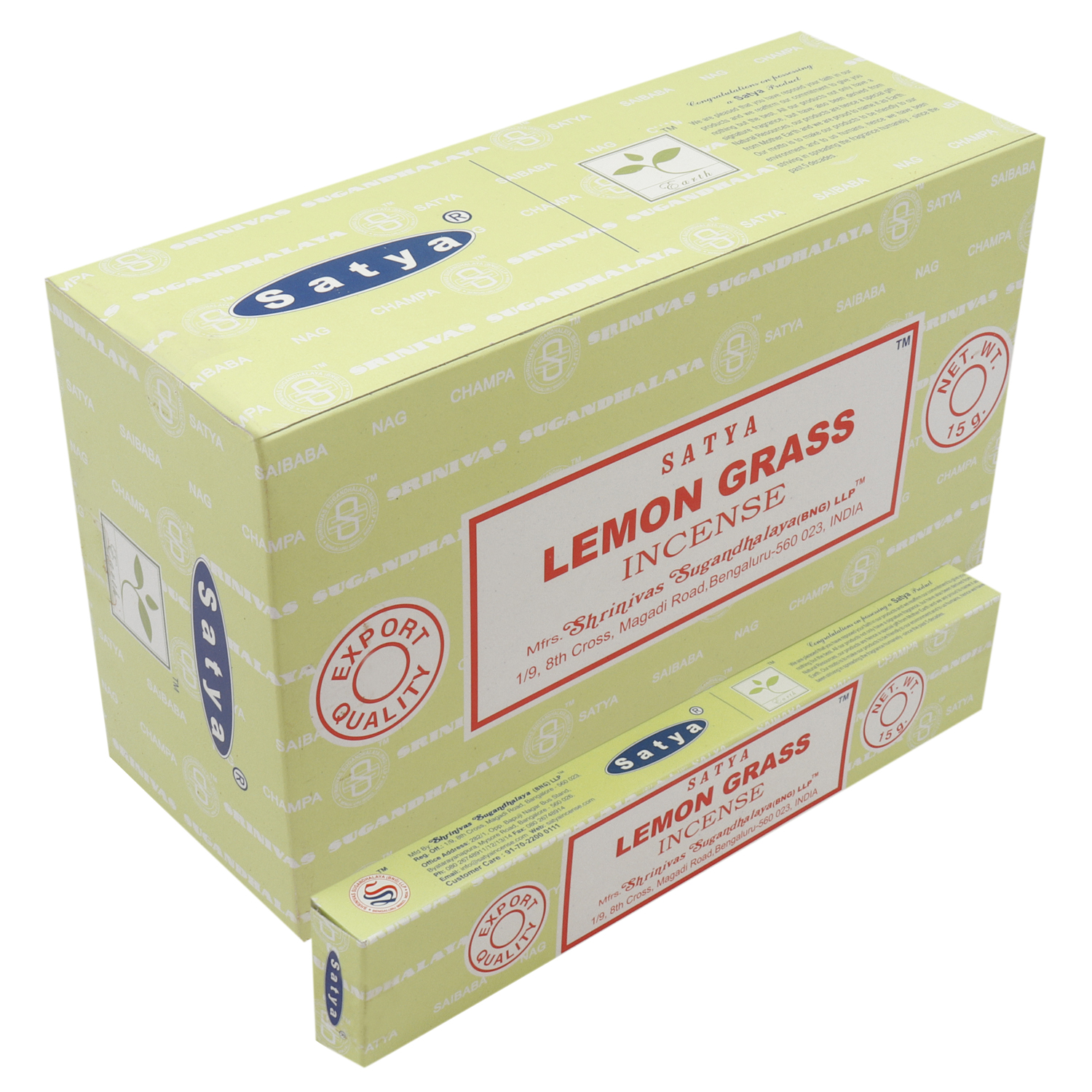 SATYA LEMONGRASS 15 GM