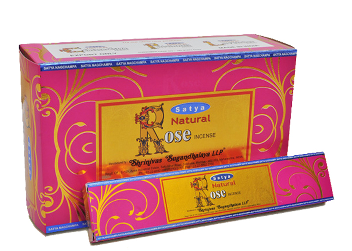 SATYA NATURAL ROSE 15 GM