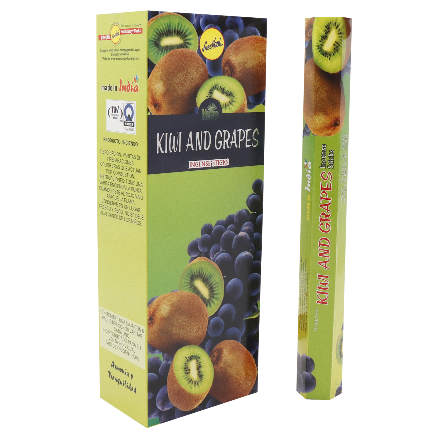 KIWI AND GRAPES / KIWI UVA